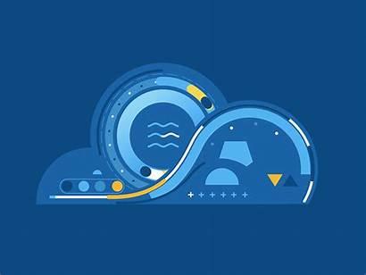 Cloud Data Analytics Ecr Devops Dribbble Computing