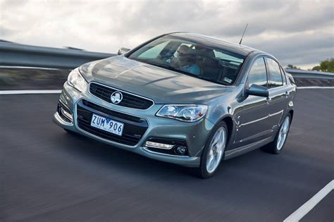 holden ssv holden cars news ssv redline gets performance boost