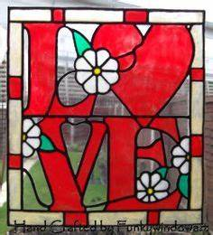 stained glass letters numbers on pinterest stained With stained glass letters and numbers