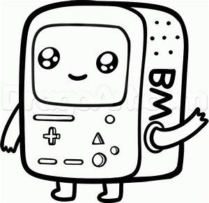 How to Draw Chibi Beemo, Step by Step, Cartoon Network ...