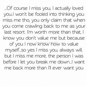 Breaking Up and Moving On Quotes : Of... - Hall Of Quotes ...