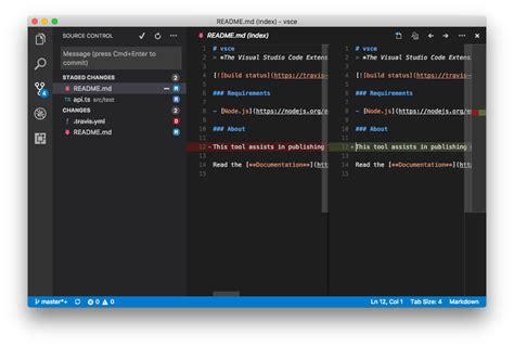 Visual Studio Code Source Control Api