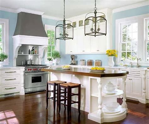 blue kitchen walls with white cabinets inspiration round 1 my mid life reno 633 | yes ceiling height cupboards