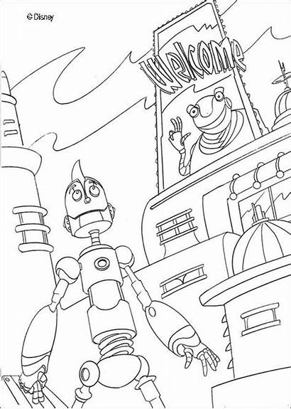 Coloring Pages Robots Robot Boys Sheet Printable