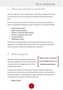 How To Write A Translator 39 S Cv