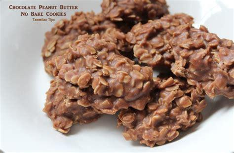 peanut butter no bake cookies chocolate peanut butter no bake cookies tammilee tips