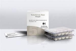 Testobase  Testosterone Suspension  Primus Ray 10x1ml  50mg  Tab