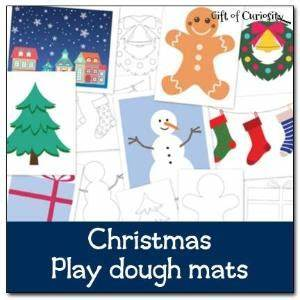 face play dough mats