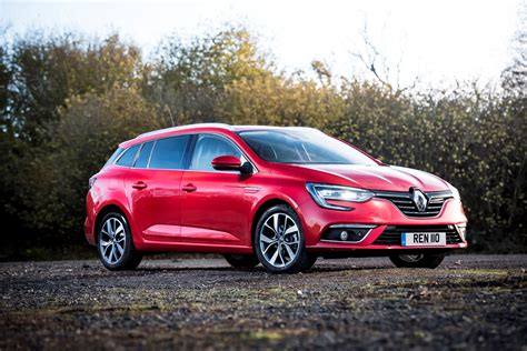 renault red renault megane sport tourer 2016 photos parkers
