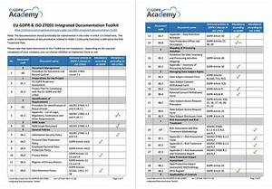 eu gdpr iso 27001 integrated documentation toolkit With gdpr document