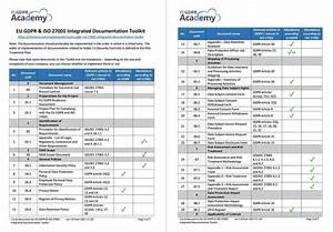 eu gdpr iso 27001 integrated documentation toolkit With iso 27001 documentation toolkit