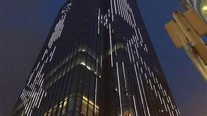 Facade lighting in Causeway Bay Hong Kong - YouTube