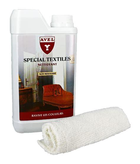raviver couleur canapé tissu lait nettoyant textiles avel
