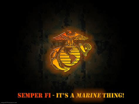 It's A Marine Thing By Semperfi1775 On Deviantart