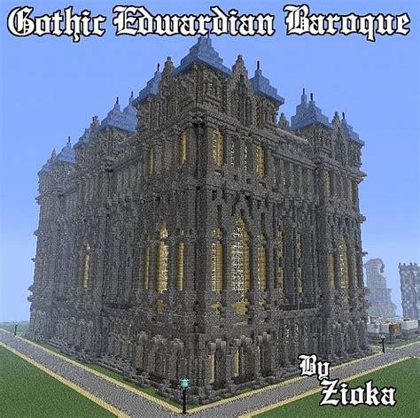 gothic edwardian baroque minecraft project minecraft