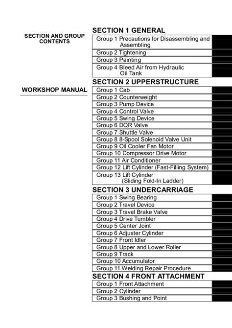 Hitachi ex2500 6 hydraulic excavator service repair manual