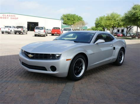Chevrolet Camaro 2013 Silver Coupe Ls Gasoline 6 Cylinders
