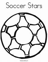 Soccer Coloring Ball Pages Football Stars Boys Printable Let Sport Logos sketch template