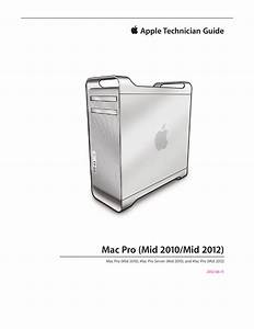 Pdf  Apple Mac Pro Mid 2010 Mid 2012 Technician Guide