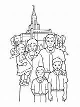 Temple Coloring Lds Pages Primary Front Gospel Temples Church Families Happy Drawing Going Printable Print Standing Synagogue Sealing Mormon Lesson sketch template