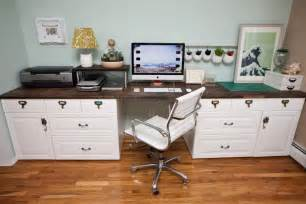 Ikea Computer Desk Hack by Custom Command Center Ikea Hackers Ikea Hackers