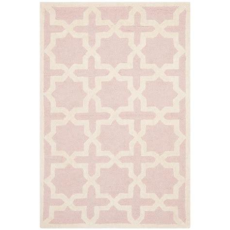 light pink rug safavieh cambridge light pink ivory 2 ft x 3 ft area rug
