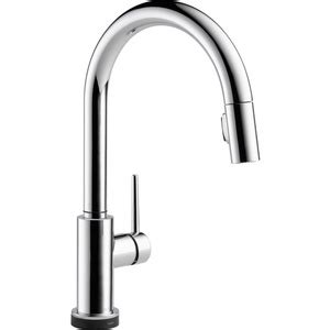 Ferguson Delta Kitchen Faucets by D9159tdst Trinsic Pull Out Spray Kitchen Faucet Chrome