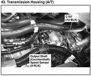 Transmission Speed Sensor Location  Where Exactly On The
