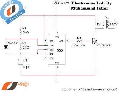 Timer Inverter Electronics Lab
