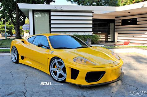 Modified ferrari 360 modena lovely exhaust sound! Ferrari 360 Modena custom wheels ADV.1 5 Track Spec 20x8.5, ET , tire size / R20. 20x12.0 ET