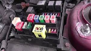 Volvo S40 Fuse  U0026 Relay Box Location Video
