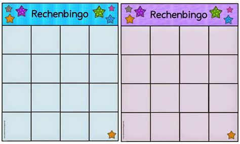 Bingo vorlage zum ausdrucken erstaunlich bingo zum kleinen einmaleins. Ideenreise - Blog   Spielfelder fürs Rechenbingo