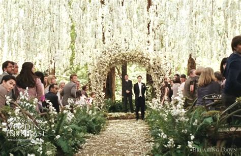 Twilight Wedding Flowers