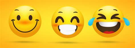 Colección de emojis que muestra emociones felices ...