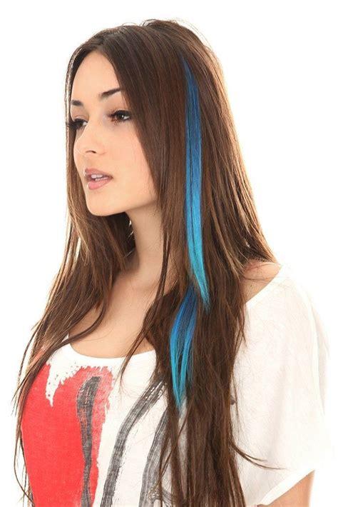 Best 25+ Colored Hair Streaks Ideas On Pinterest Rainbow