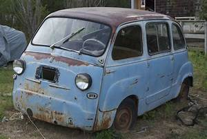 No Reserve  1959 Fiat Multipla 600 Project For Sale On Bat Auctions