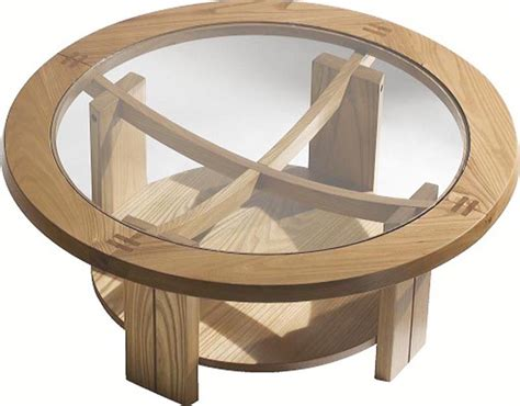 table basse modulable bois table ronde bois homeandgarden
