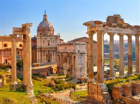 The Roman Forum Rome Italy 1800x2880 : Wallpapers13.com