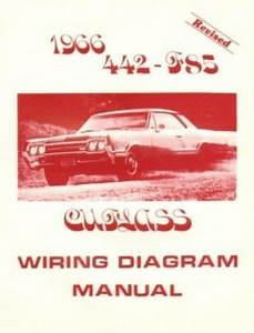 Oldsmobile 1966 F85  442  U0026 Cutlass Wiring Diagram