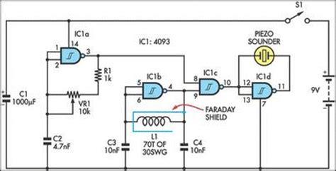 embedded electronics tutorials bfo metal detector