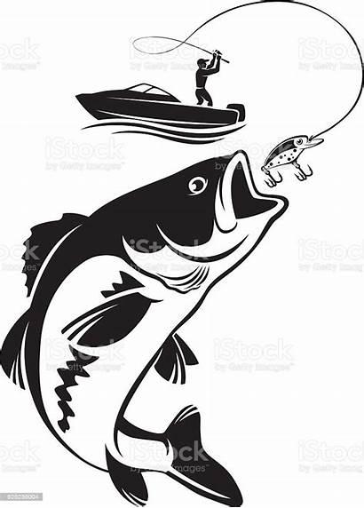 Bass Fishing Mouth Vector Clip Largemouth Fish