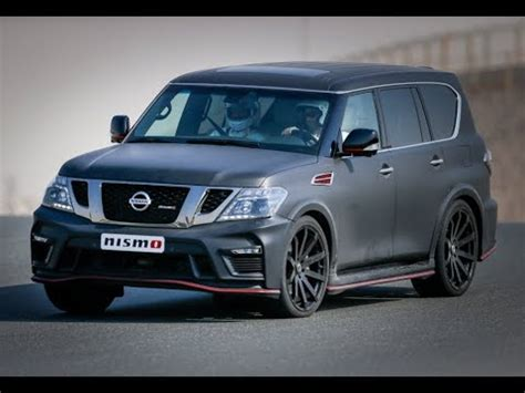 nissan patrol  nismo edition youtube