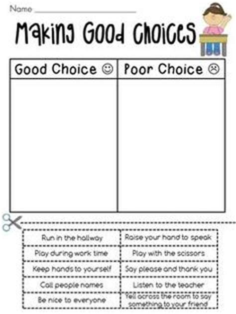 making choices images classroom behavior school