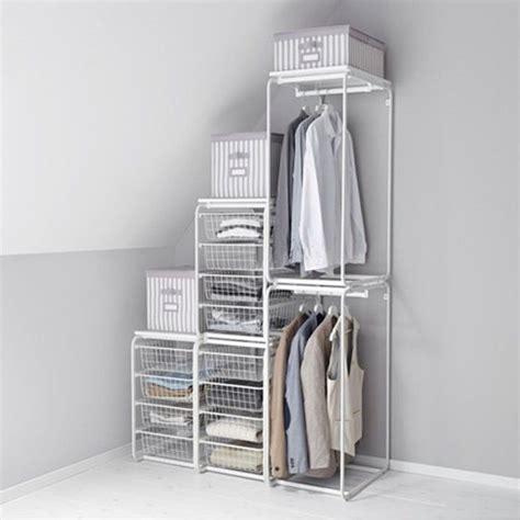Ankleidezimmer Ikea Algot by Die Besten 25 Begehbarer Kleiderschrank Algot Ideen Auf