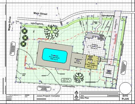 Building Site Plan Template by Visisiteplan Set Visio App For Surveys And Site Plans