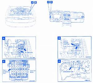 Mitsubishi Montero 2002 Fuse Box  Block Circuit Breaker Diagram  U00bb Carfusebox