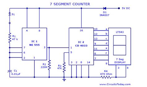 Counter Circuits Electronics Projects