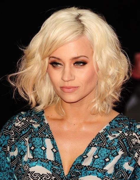 kimberley wyatt medium tousled hairstyles for hair 2013 popular haircuts