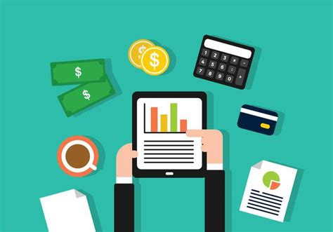 Financial Cpa Making Report Illustration