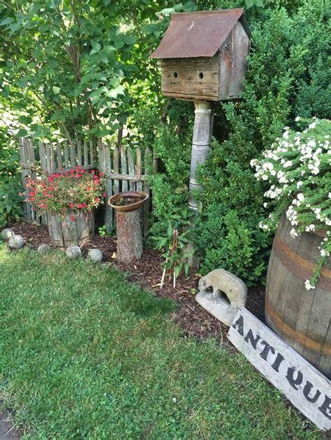 best images about primitive flowers gardens